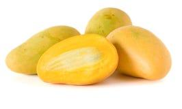 белизна мангоа предпосылки 4 изолированная Стоковая Фотография