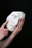 белизна маски Стоковая Фотография RF
