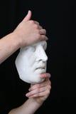 белизна маски Стоковое фото RF