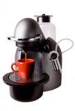 белизна машины espresso Стоковая Фотография