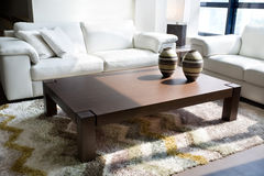 белизна мебели Стоковая Фотография RF