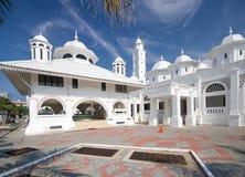 белизна мечети Стоковые Изображения