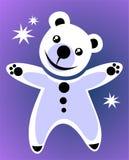 белизна медведя Стоковое Изображение