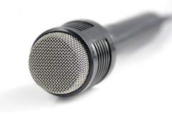 белизна микрофона Стоковое Фото