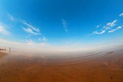 белизна моря свободного полета Стоковое Изображение