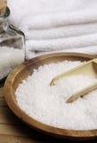 белизна моря соли Стоковое Изображение RF