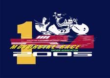 белизна мотоцикла Стоковые Изображения RF