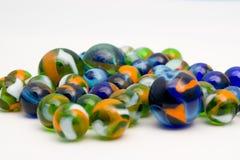 белизна мрамора шариков предпосылки Стоковая Фотография
