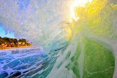 белизна мытья захода солнца бочонка Стоковое Изображение RF