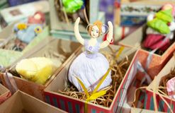 белизна настроения 3 шариков изолированная рождеством стоковые фото
