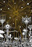 белизна ночи Стоковая Фотография RF