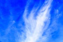 белизна облака Стоковое Изображение RF
