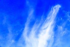 белизна облака Стоковое Изображение