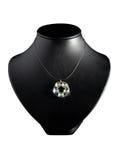 белизна ожерелья Стоковая Фотография RF