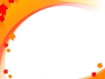 белизна осени Стоковая Фотография RF