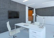белизна офиса стоковые изображения rf