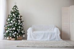 Белизна оформления рождества подарков рождества красная Стоковая Фотография RF