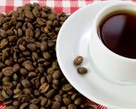 белизна пар кофе Стоковое Изображение