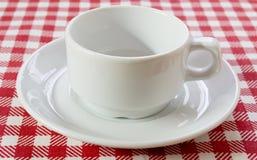 белизна пар кофе Стоковое Изображение RF