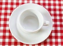 белизна пар кофе Стоковое фото RF