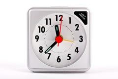 белизна перемещения часов предпосылки сигнала тревоги Стоковые Изображения RF