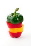 белизна перца красная Стоковое Изображение RF