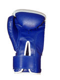 белизна перчатки бокса предпосылки Стоковое Изображение