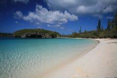 белизна песка пляжа Стоковая Фотография RF