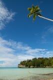 белизна песка рая острова пляжа тропическая Стоковое фото RF