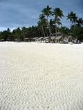 белизна песка philippines острова boracay пляжа Стоковое фото RF