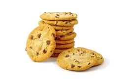 белизна печенья шоколада обломока Стоковые Изображения RF