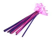 белизна пинка ладана цветка кактуса пурпуровая Стоковые Изображения RF