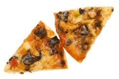белизна пиццы стоковая фотография