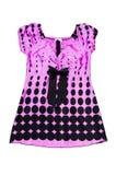 белизна платья мерцающая стильная Стоковое Изображение
