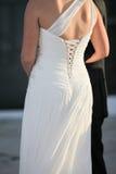 белизна платья невесты Стоковые Фотографии RF