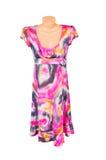 белизна платья превосходная роскошная Стоковые Фотографии RF