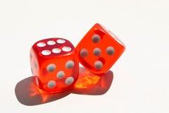 белизна плашек предпосылки абстрактная иллюстрация игры принципиальной схемы 3d Случайные игры Стоковое Изображение RF