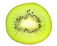 белизна плодоовощ предпосылки отрезанная кивиом Стоковое фото RF