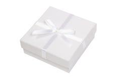 белизна подарка коробки Стоковые Фотографии RF
