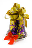 белизна подарка на рождество Стоковая Фотография RF