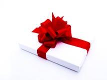 белизна подарка 6 предпосылок родовая Стоковое Фото