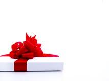 белизна подарка 7 предпосылок родовая Стоковые Изображения RF