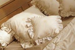 белизна подушки конструкции Стоковые Изображения