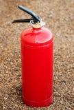 белизна пожара гасителя предпосылки 3d изолированная изображением Стоковые Фото