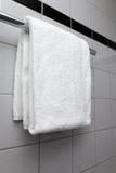 белизна полотенца Стоковая Фотография RF
