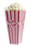 белизна попкорна коробки Стоковая Фотография RF