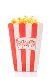 белизна попкорна Стоковое фото RF