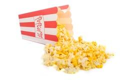 белизна попкорна Стоковое Изображение RF