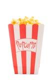 белизна попкорна Стоковое Фото