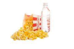 белизна попкорна Стоковые Фотографии RF